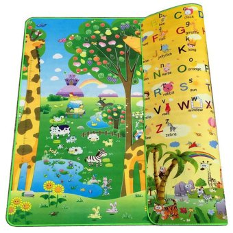 BAYM Large Baby Kid Toddler Crawl Play Game Letter Alphabet MatPlayMat Gym Tiles for In/Out Doors Non-toxic Non-slip ReversibleWaterproof 180 x 200 x 0.5cm 70.9 x 78.7 x 0.2 Inches Giraffe -intl