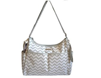 Bebe Chic Wintour Diaper Bag (Gray) Price Philippines
