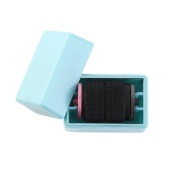 Befu Roller Messy Code Mini Privacy Confidential Blue/Pink ColorPortable Stamp Blue - intl Price Philippines