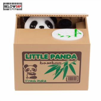 Below SRP Panda Character Coin Bank ( Black ) Price Philippines