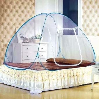 Best Quality Mosquito Net King Size (Blue)