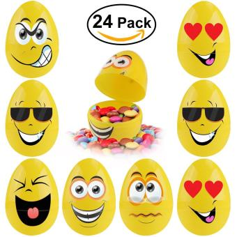 12pcs mixed color 40x60mm easter egg decoration home kids diy bestoyard 24pcs bright jumbo easter eggs party favors intl price philippines negle Images