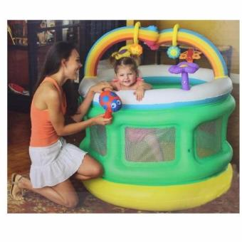 Bestway 52221 Inflatable Baby Playpen Baby Crib
