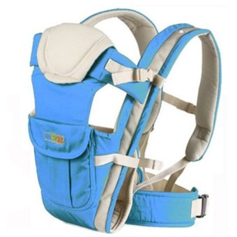 Bethbear Baby Carrier Blue (4 Types Of Carrying Style) (Intl)