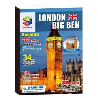 Big Ben 3D Jigsaw Puzzle Set (Intl) - picture 2