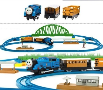 BIGCAT train toy set with train track gift for kids VehiclePlaysets - intl