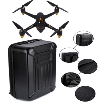 Black ABS Hard Shell Backpack Case Bag for Hubsan X4 H501S Black -intl Price Philippines