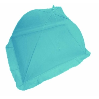 Blue Green Plain Mosquito Net for Baby