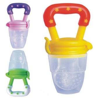 Bluelans Baby Food Nipple Silicone Feeder Pacifier L Price Philippines