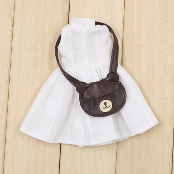 Blythe dress shoulder bag small cloth doll