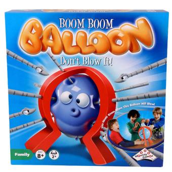Booming Balloon Game Family Fun Strategy Board Game EducationalGames
