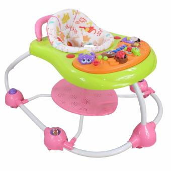 Bossney Multi purpose baby walker (PINK)
