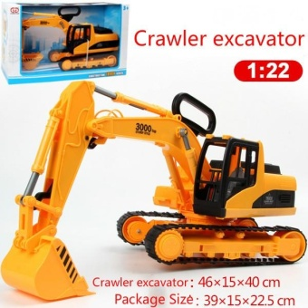Boy Kids Toys Construction Car Toys Diecast Metal Engineering CarVehicles Building Excavator Bulldozer Toys Diecast Car Model GiftsToys - intl