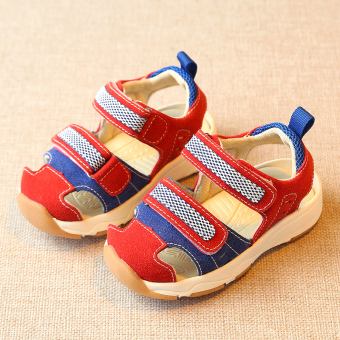 Boy's small children's female baby toddler shoes Baobao sandals