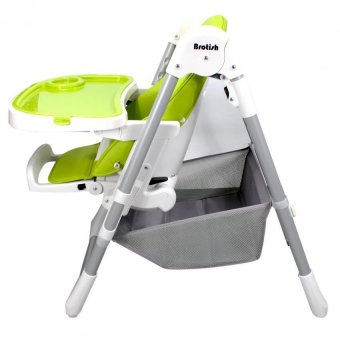 Brotish Comfortable Baby High Chair Safety Feeding Chair BoosterSeat (Apple Green) - 4