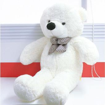 BUYINCOINS 80CM Giant Big Cute Plush Stuffed Teddy Bear Huge Soft100% Cotton Toy Best Gift