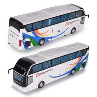 Caipo travel bus alloy car