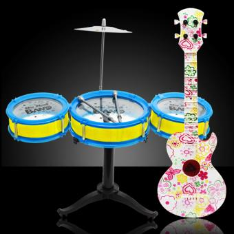Candy Online Musical Guitar and Jazz Drum Toy Set