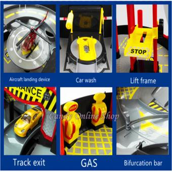 Candy Online Two - Tier Tire Style Cars Aircraft Parking Lot RacingTrack - 5