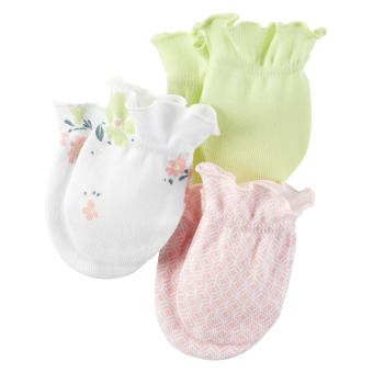 Carter's 3-Pack Mittens - Pretty And Perfect (0-3 Months)