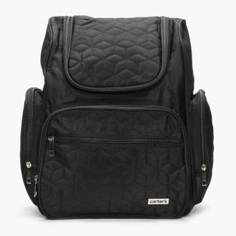 Carter's Stitched Backpack Diaper Bag (Black) Price Philippines