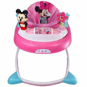 Cartoon Character Musical Baby Walker MMW-868 (Pink)