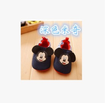 Cartoon cotton cloth for men and women Baobao floor shoes soft bottom toddler shoes