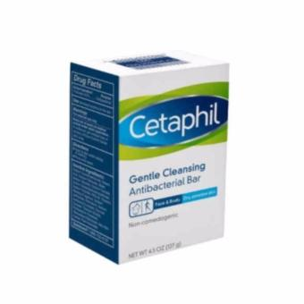 Cetaphil Gentle Face and Body AntiBacterial Soap Bar 127g