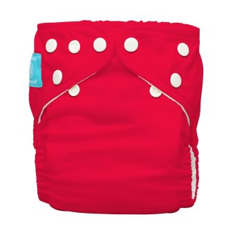 Charlie Banana Red 2-in-1 Cloth Baby Diaper with Insert