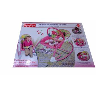 CHES Fisher-Price infant to todddler rocker (Pink) Price Philippines