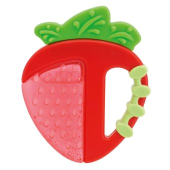 Chicco Fresh Relax Teether 4Mos+ 1pc -Strawberry