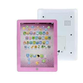 Child Touch Type Computer Tablet English Learning Study Machine ToyPink - intl