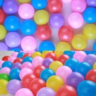 Children 200pcs Swim Colorful Soft Plastic Ocean Ball(color random)- intl - 2