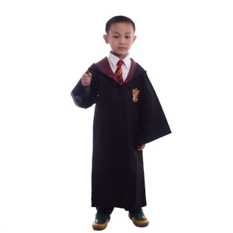 Children Harry Potter Costume Magic Robe Cloaks Robes Cosplay Size-L(Gryffindor)