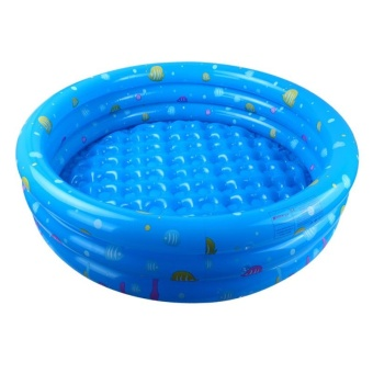 Children Round Swimming Pool Inflatable Play Paddling Bathtub ForHome Outdoor - intl