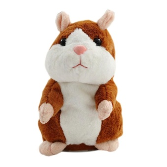Children Talking Hamster Plush Toy (size:15cm) - intl