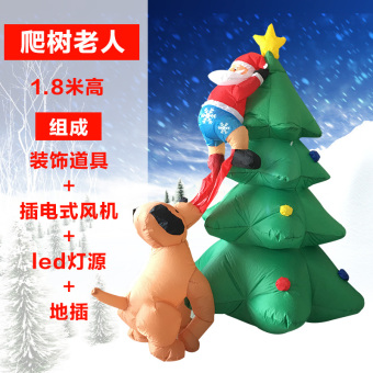 Christmas adult inflatable clothing props