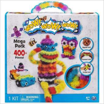 Christmas Gift For Kid Mega Pack 400Pieces Magic Puffer Ball MegaPack Animals DIY Assembling Best Block Toy Sets Gift Children - 4