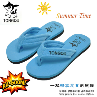 Clearance boy's girls slip summer home sandals and slippers children's slippers