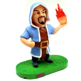 COC Clash of Clans Wizard Premium PVC 4.5-inch Action Figure
