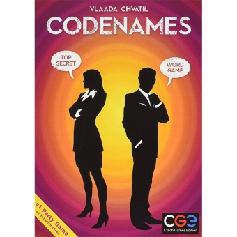 Codenames Deep Undercover Board Word Game Ages 18+ New in SealedBox Card Party - intl