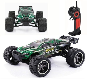 Colof 1/12 Full Proportional 2.4GHz 2WD Remote Control Off RoadMonster RC Hobby Truck 35MPH+ High Speed Radio Controlled ElectricTruggy Buggy Cars RTR(Green) - intl