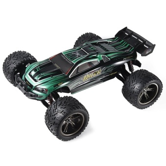 Colof 1/12 Full Proportional 2.4GHz 2WD Remote Control Off RoadMonster RC Hobby Truck 35MPH+ High Speed Radio Controlled ElectricTruggy Buggy Cars RTR(Green) - intl - 3