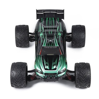 Colof 1/12 Full Proportional 2.4GHz 2WD Remote Control Off RoadMonster RC Hobby Truck 35MPH+ High Speed Radio Controlled ElectricTruggy Buggy Cars RTR(Green) - intl - 4