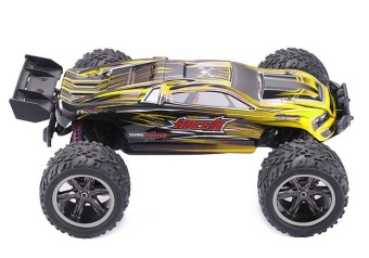 Colof 1/12 Full Proportional 2.4GHz 2WD Remote Control Off RoadMonster RC Hobby Truck 35MPH+ High Speed Radio Controlled ElectricTruggy Buggy Cars RTR(Yellow) - intl - 4