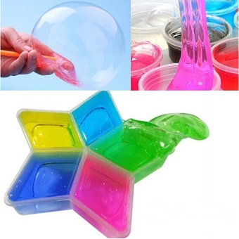 Colorful Clay Slime DIY Non-toxic Crystal Mud Play TransparentMagic Plasticine Kid Toys - intl Price Philippines