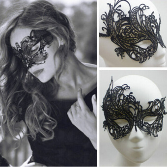 Comebuy88 Eye Mask Sexy Lace Venetian Masquerade Halloween PartyFancy Dress Costume