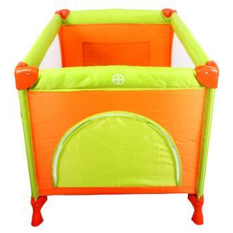 Cool baby Crib Nursery Play yard Playpen Baby gear ORANGE - 4