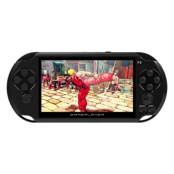 Coolboy X9 5.0 Inch Handheld Game Player Support TV Output with MP3/Movie Camera Handheld Game Console - White - intl