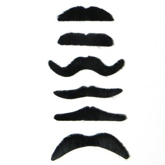 Costume Party Halloween Fake Mustache Funny Fake Beard COOL - intl